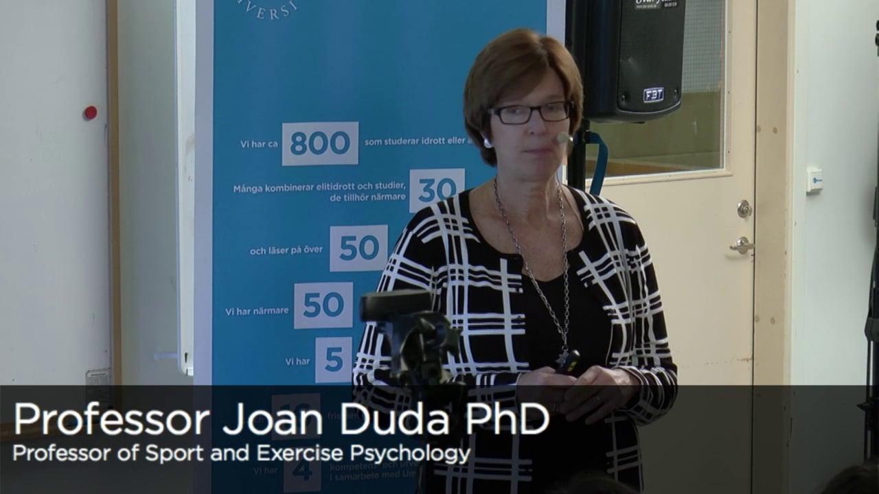 professor joan duda